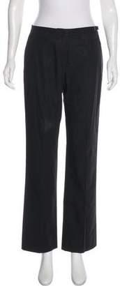 Hermes Mid-Rise Wide-Leg Pants