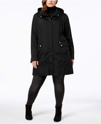Cole Haan Plus Size Packable Unlined Raincoat