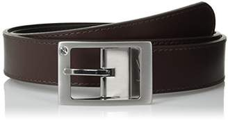 Nike Women's Rhinestone-Accented Reversible Leather Belt