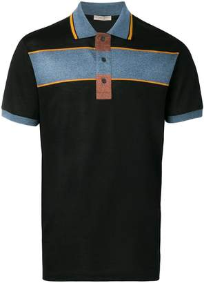 Bottega Veneta colourblock polo shirt