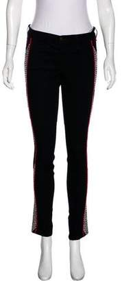 Rag & Bone Embroidered Mid-Rise Jeans