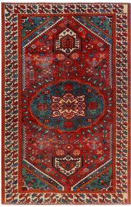 Noori Rug Semi-Antique Cocasian Ghodsi Hand-Knotted Wool Persian Rug