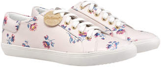 Cath Kidston York Ditsy Printed Lace Up Trainers