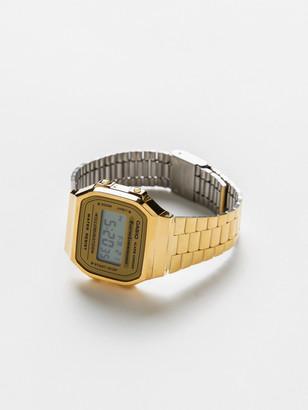 Casio A168WG Databank Digital Watch in Gold
