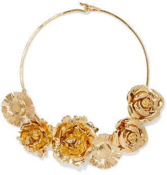 Aurelie Bidermann Selena Gold-plated Necklace