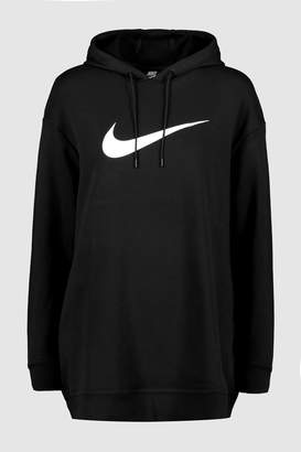hot sale online 6c98a e5ae9 Next Womens Nike Swoosh Longline Overhead Hoody