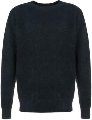 The Elder Statesman cashmere fine knit sweater