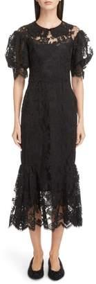 Simone Rocha Corded Lace Dress