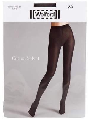 Wolford Cotton Velvet Tights