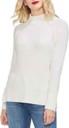 Vince Camuto Mock Neck Raglan Sweater