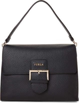 3f7978c097 Furla Onyx Buckle Front Leather Shoulder Bag