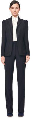 Pinstripe Suiting Blazer