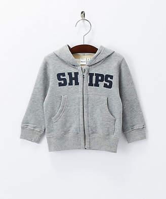 Ships (シップス) - [SHIPS] ロゴ フード ジップアップ
