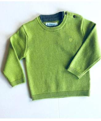 Mayoral Knit Green Sweater
