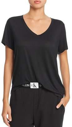 Calvin Klein Form Lounge Short Sleeve V-Neck Tee