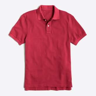 J.Crew Factory Slim washed piqué polo shirt