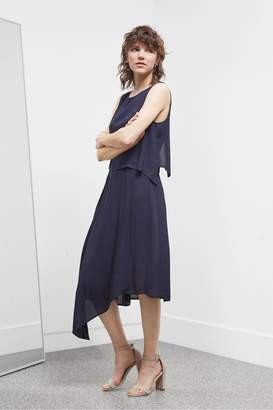88e9a91cb366 Great Plains Soft Crepe Midi Dress