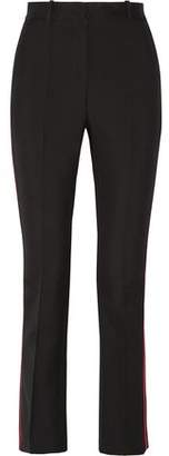 Givenchy Skinny Pants In Black Grain De Poudre Wool