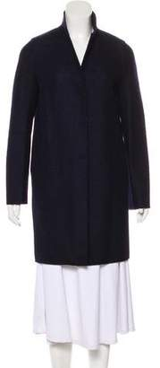 Harris Wharf London Virgin Wool Button-Up Coat
