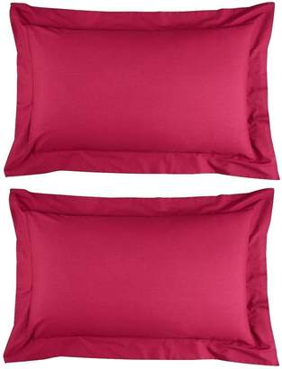 Very Non Iron Percale 180 Thread Count Oxford Pillowcases (Pair)