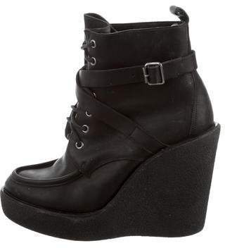 Pierre Hardy Platform Wedge Ankle Boots