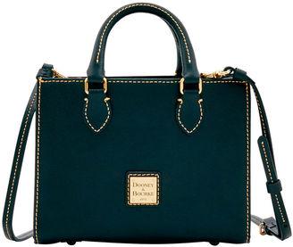 Saffiano Mini Janine Satchel $198 thestylecure.com