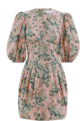 Zimmermann Tempest Lace Up Dress