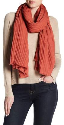 David & Young Crinkle Oblong Scarf