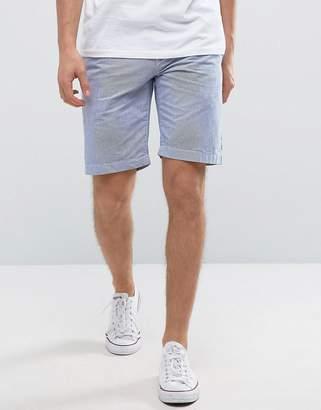 Jack Wills NewBiggin Chino Shorts in Navy Ticking Stripe