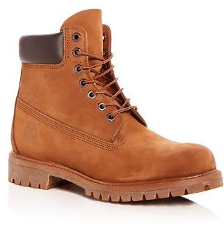Timberland Men's Premiere Waterproof Nubuck Leather Hiking Boots
