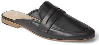 Leather loafer mules $59.95 thestylecure.com