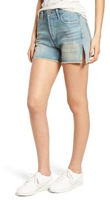 Citizens of Humanity Corey Distressed Slouchy Denim Shorts