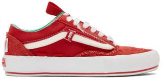 Vans Red Regrind Old Skool Cap LX Sneakers