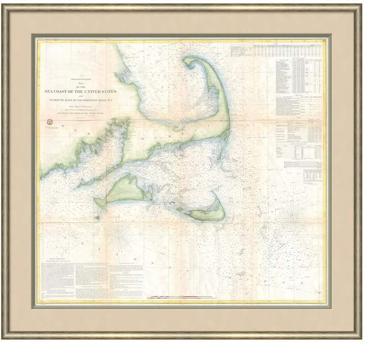 Map of the Americas II by (Framed Giclee)
