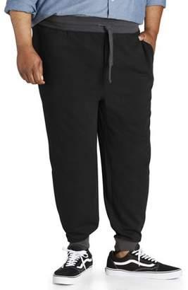 Canyon Ridge Big Men's Contrast Waistband & Cuff Knit Jogger