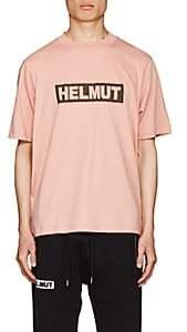 Helmut Lang Men's Logo-Print Cotton Jersey T-Shirt - Rose