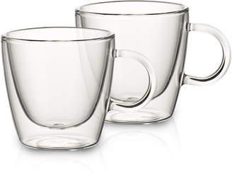 Villeroy & Boch Artesano Hot Beverages Medium Cup, Set of 2 3 in