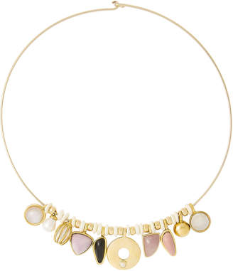Lizzie Fortunato Best Lady Charm Necklace