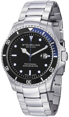 Stuhrling Original Sthrling Original Mens Stainless Steel Watch
