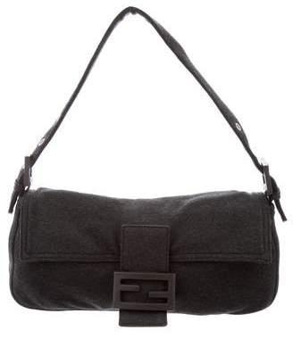 Fendi Knit Baguette Bag