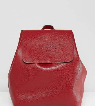 Street Level Minimal Backpack In Burgundy