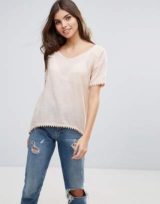 Vila Split Back T-Shirt