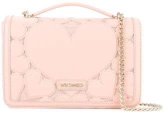 Love Moschino heart shoulder bag