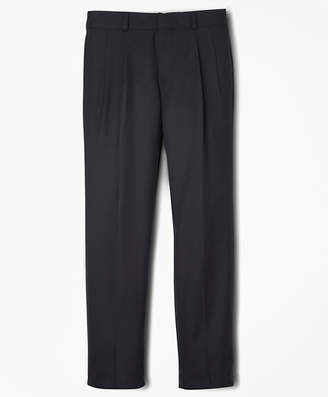 Brooks Brothers Boys BrooksEase Prep Pleat-Front Dress Trousers
