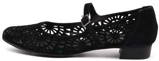 Django & Juliette New Enta Black Womens Shoes Casual Shoes Flat