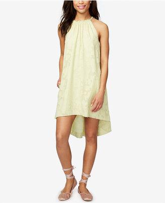 Rachel Rachel Roy Jacqueline Cotton High-Low Shift Dress, Created for Macy's $99 thestylecure.com