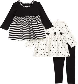 Little Me 3-Piece Tunics & Leggings Set
