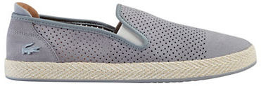 LacosteLacoste Perforated Slip-On Shoes