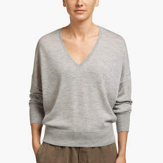 James Perse CASHMERE CROPPED SWEATER