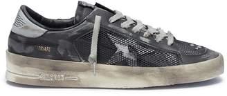 Golden Goose 'Stardan' distressed mesh panel leather sneakers